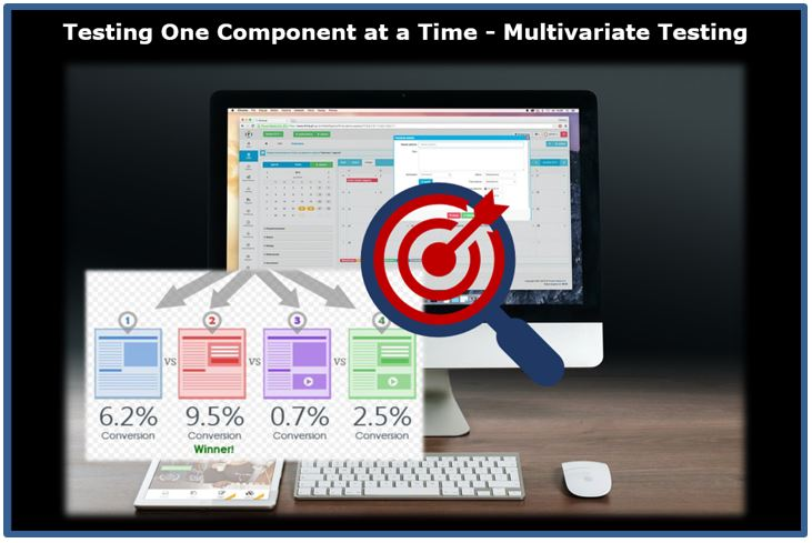 Testing One Component at a Time with Multivariate Software Testing Solutions