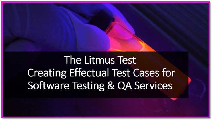 Taste Cases for Software Testing